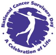 National Cancer Survivor's Day logo