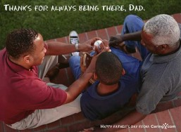 Alzheimer's and Father's Day graphic